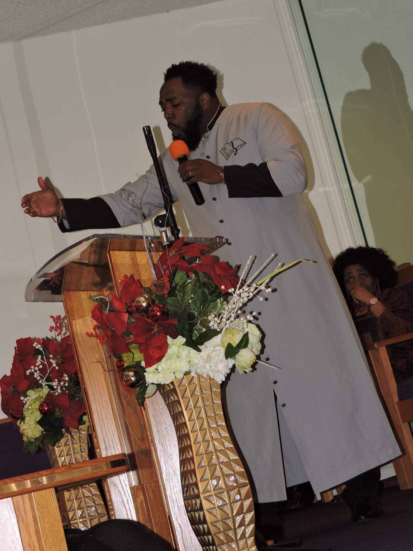 Assistant Pastor Lionel Peten