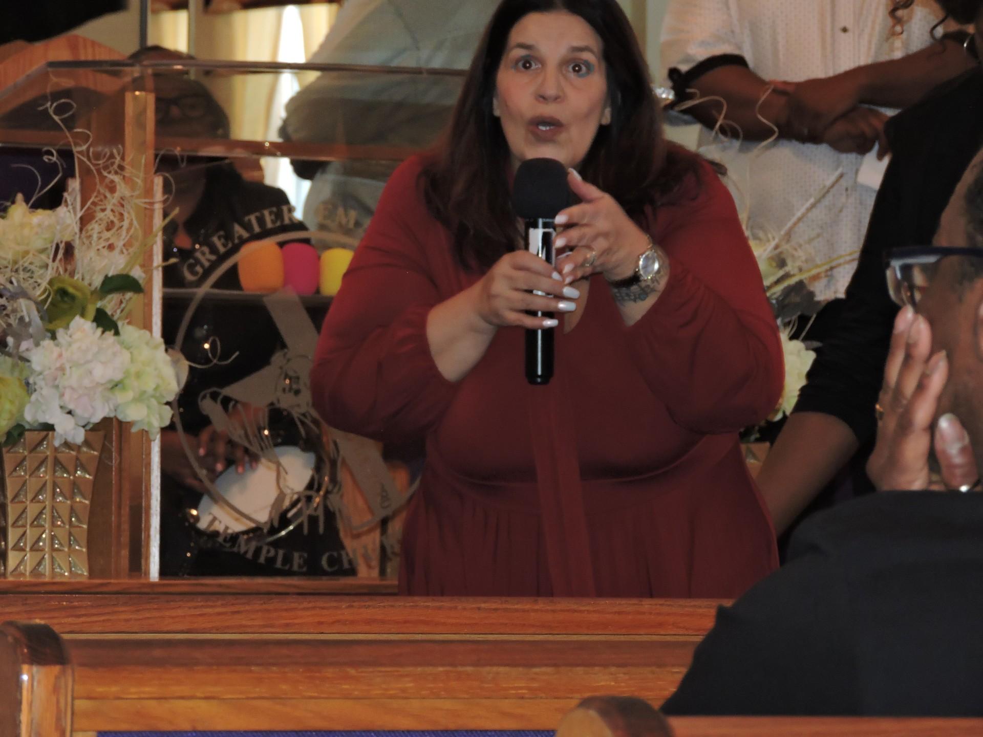 Elder Stephanie Ministering
