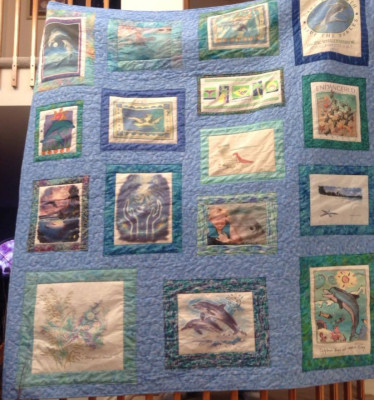 My Vacation T-shirt Quilt