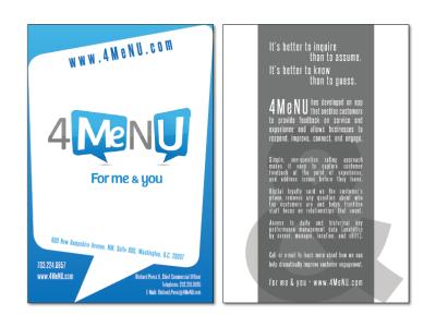 Self-Promotional Brochure