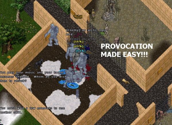 Provocation Spot