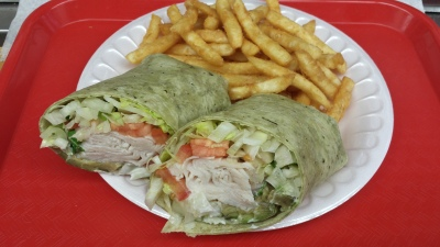 TURKEY AVOCADO SWISS WRAP