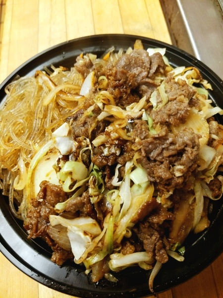 BULGOGI WITH JAPCHAE