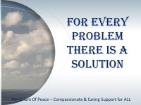 For every problem there is solution