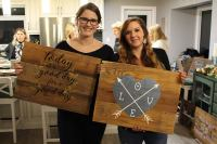 Rustic Sign Nights