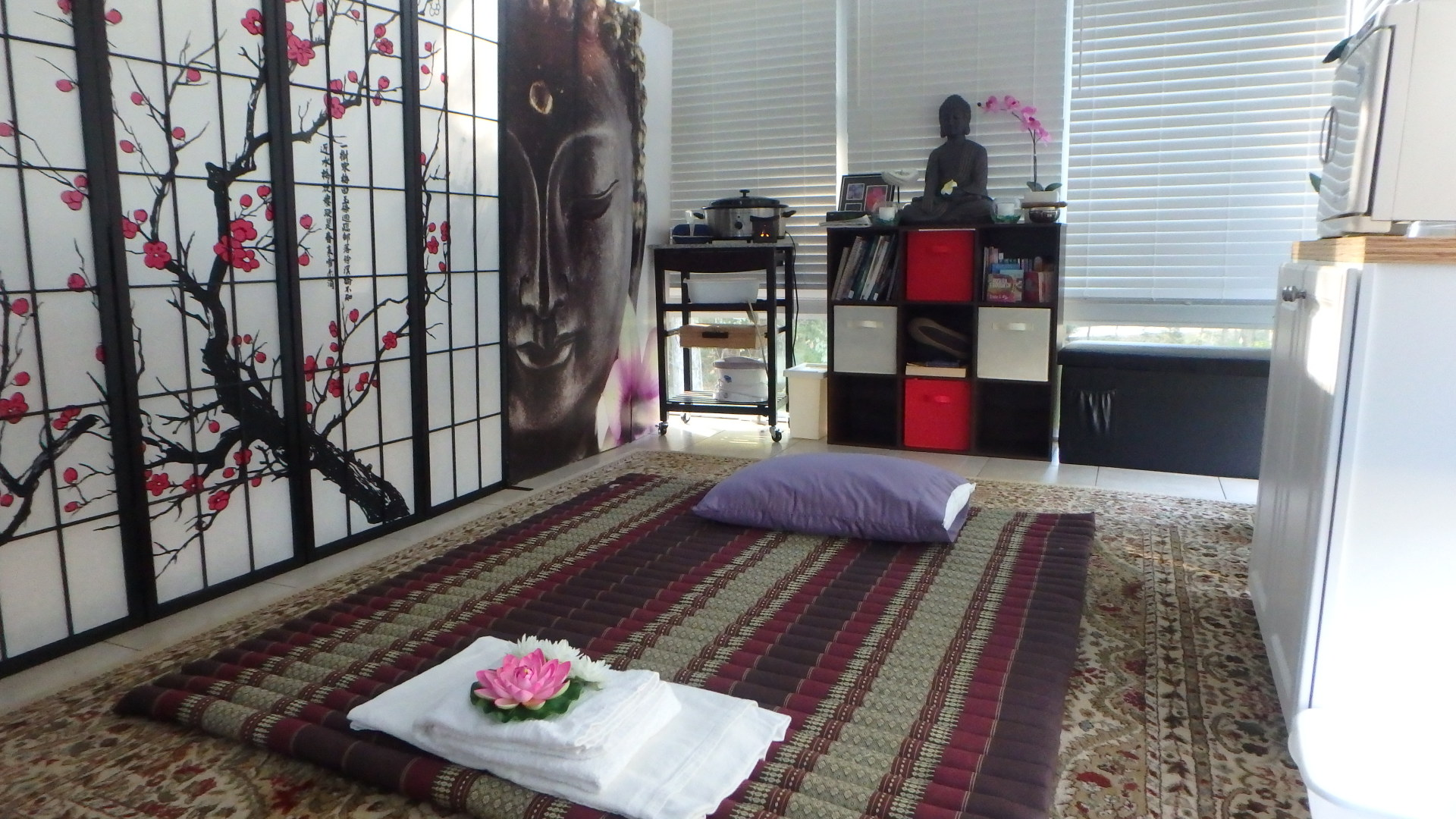 Thai Massage set up