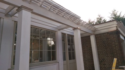 Attached Pergola, Bronxville, NY