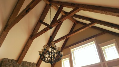 Timber Ceiling, New Milford, CT