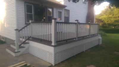 Composite Trex Deck, Hawthorne, NY