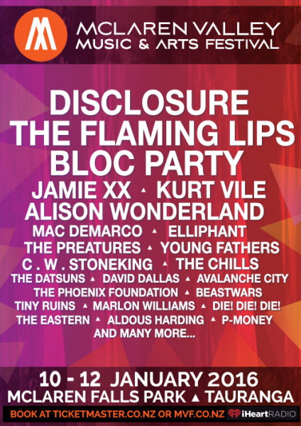 Mclaren Falls Festival