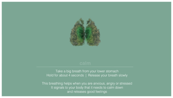 calm breathing technique