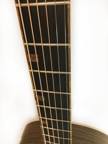T-G guitar fretboard