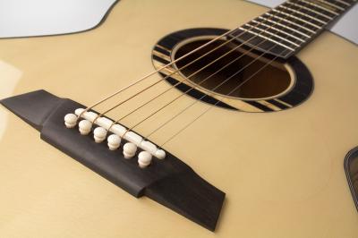 Acoustic guitar soundboard bracing