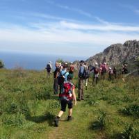 walking Lapta Mountains Cyprus