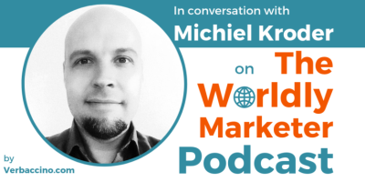 September 26 2018 Appearance on the Worldly Marketer Podcast