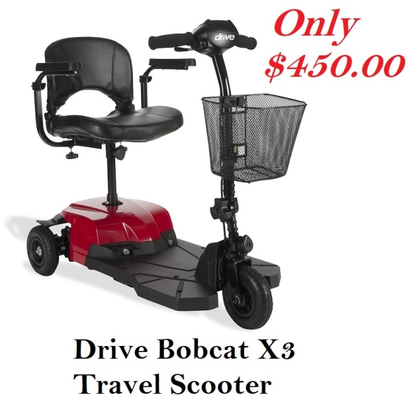 Drive Bobcat X3 Travel Scooter