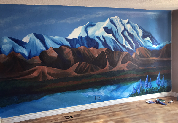 Denali Mountain Range