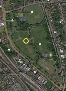 Location in Preston park to meet at 11.00am on next Sunday