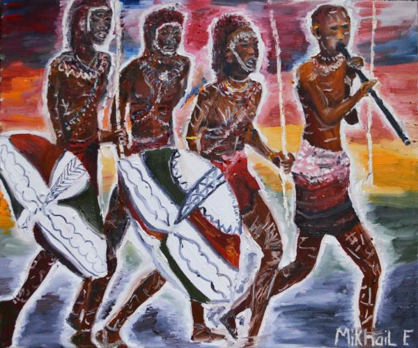 The African Warrior's Mark for Light