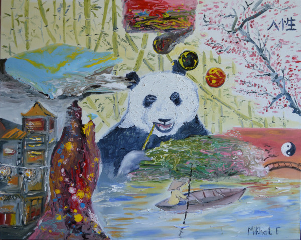 The Panda, Peace for Humanity
