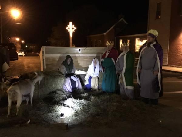 Down Town Nativity