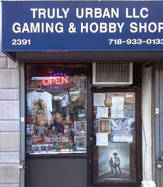 TRULY URBAN HOBBY SHOP