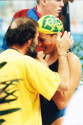 Euphoria - Olympic Trials 1996, with my dad