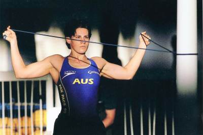 Warm up - Pan Pacs 1999