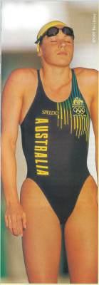 Getting ready - 200m Breaststroke Final, Atlanta Olympic Games, 1996