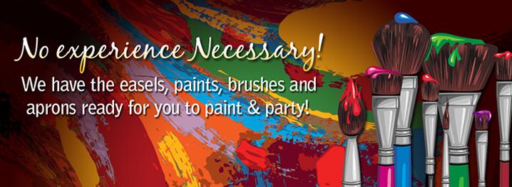 paint, paint and sip, paint party, paint class, fun