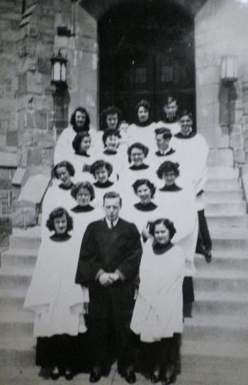 HUMC Butterworth Choir 1954