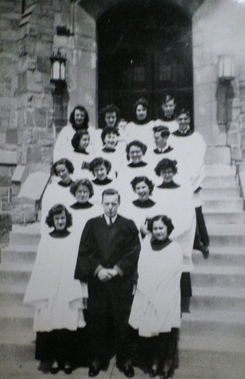 HUMC Butterworth Choir 1954