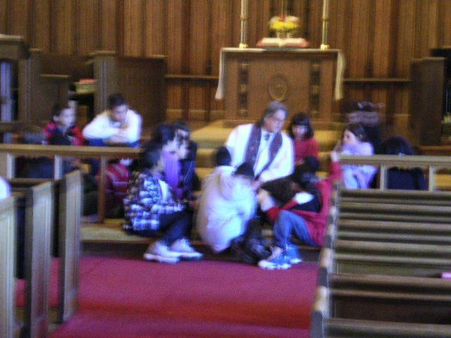 Children's Sermon February 2011 Rev. Holt Hughes
