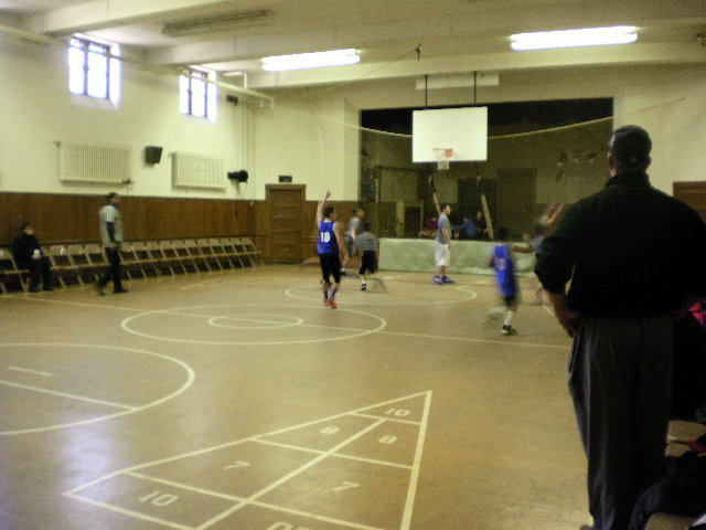 Basketball Game in HUMC Gym