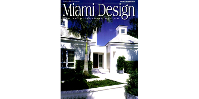 TCE's client, MJL Architect, featured on the cover of Miami Design