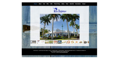 New Website Live - Bleu Provence