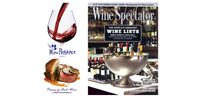 Print Ad featured in Wine Spectator