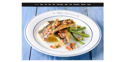 New 'Bonjour' Page Live - Bleu Provence