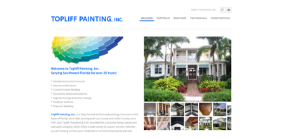 New Website Live - Topliff Painting