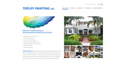 New Website Live - Topliff Painting