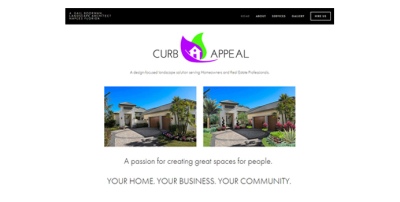 New Website Live - Curb Appeal