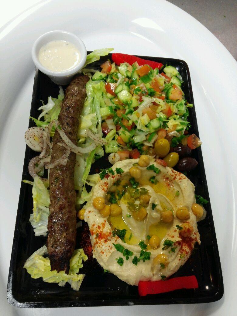 Kuta Beef Kabob Plate
