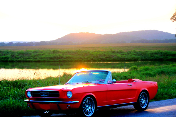 1965 Supercharged Mustang