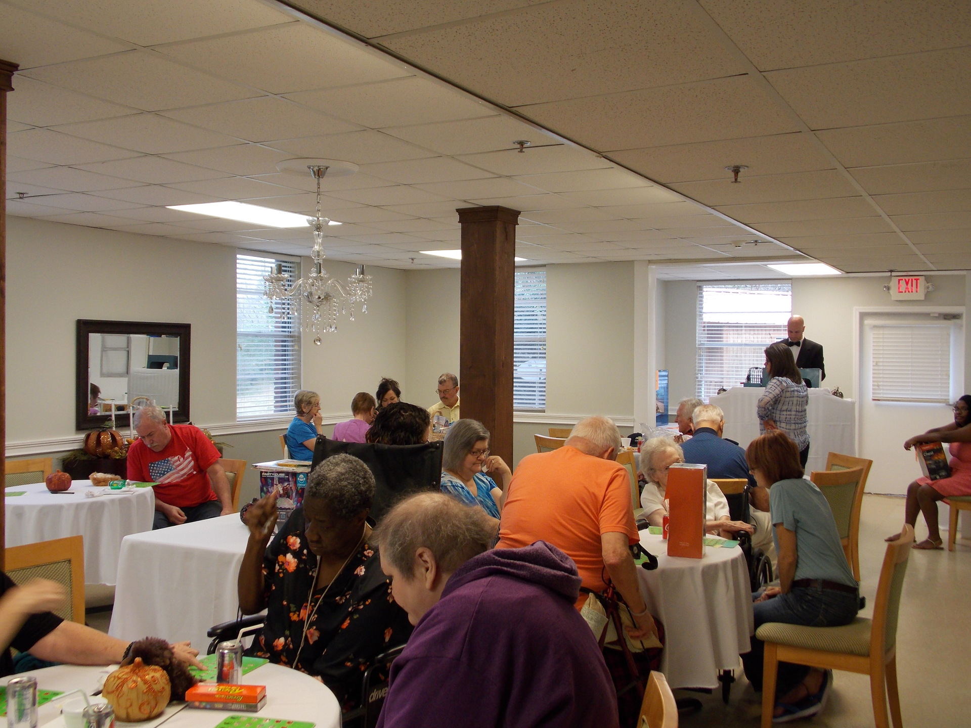 Thanks everyone for attending our 4th Annual BINGO.