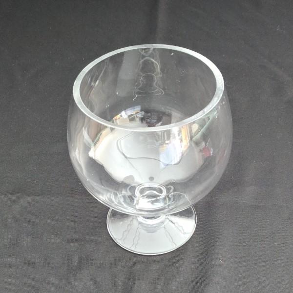 Glass Stemmed Bowl