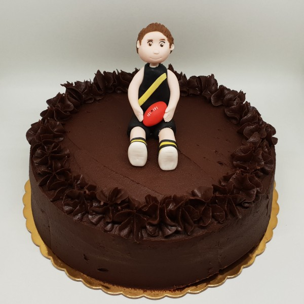 Fondant Football Player Topper