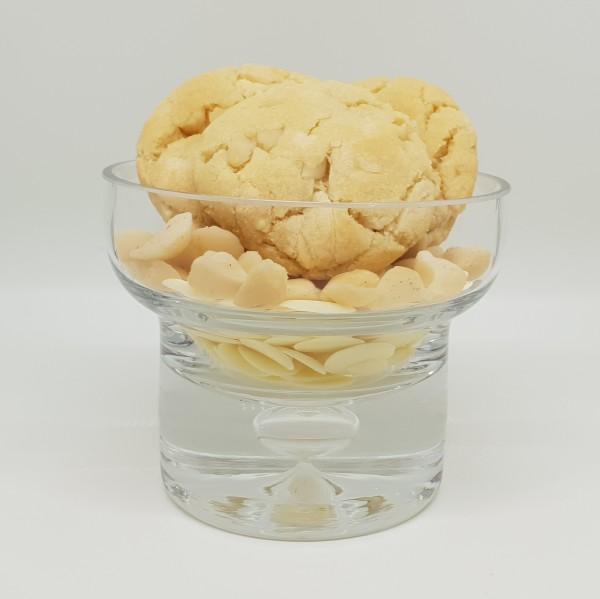 White Chocolate & Macadamia Biscuits