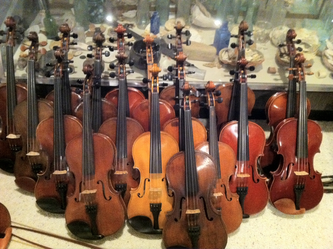 Hundreds of Violins Available