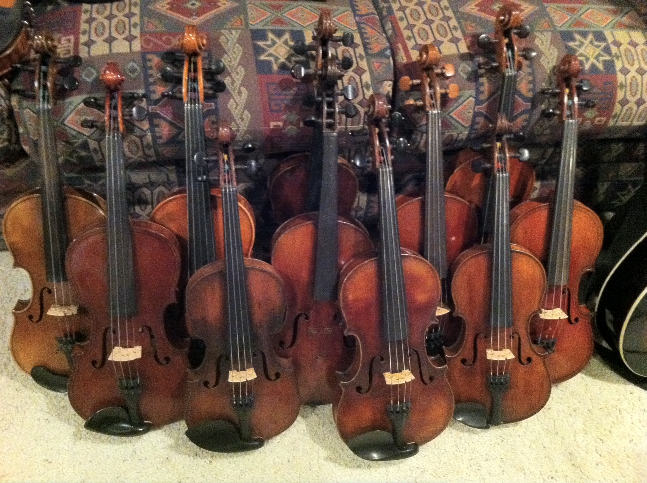 Re-graduated Old  European Instruments