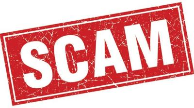 Beware of Scam Targeting New Businesses